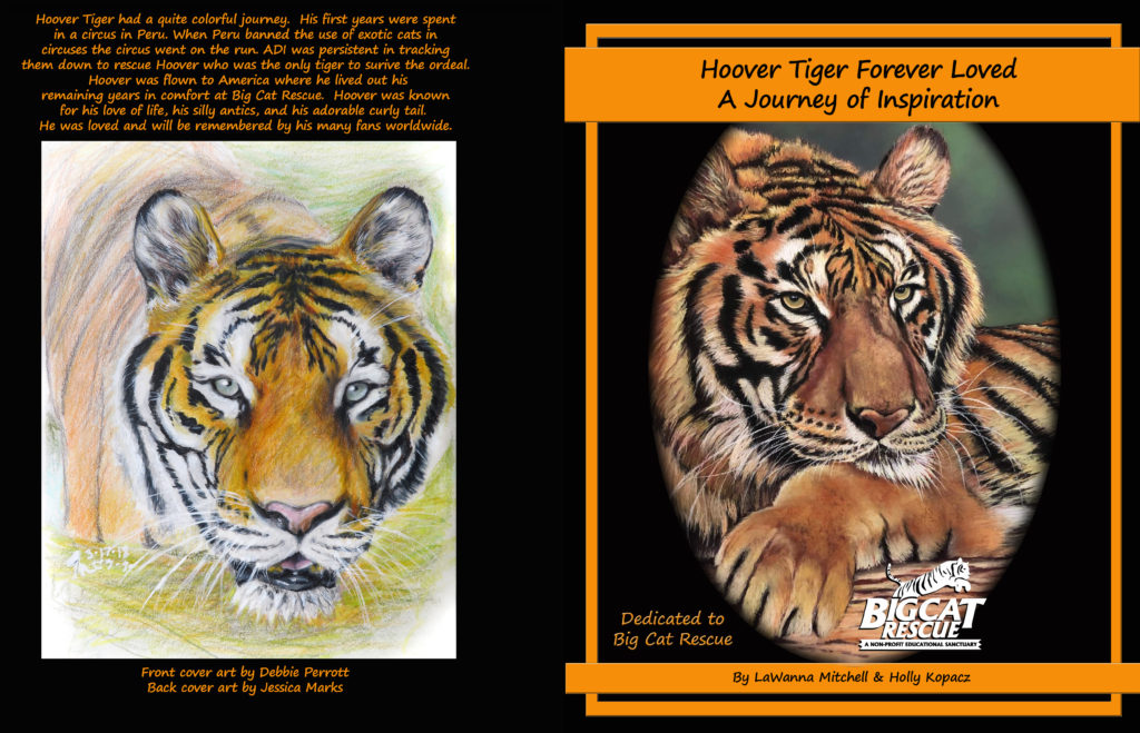 Hoover Tiger Book front and back cover